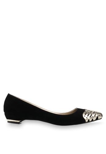 Farish Shoes black Donna Flats FA632SH84SUTID_1