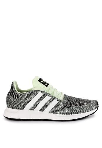 adidas green and multi adidas originals swift run C303FSH9399C01GS_1