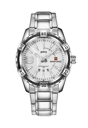 Naviforce silver Naviforce Silver Watch 187E4AC7910A9FGS_1