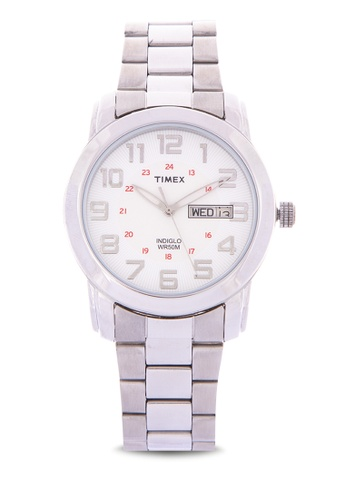 TIMEX silver Traditional Pair Stainless Watch AD902AC385E3C6GS_1