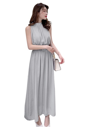 66dc894196234 Recommended New Simple Belt Vest Dress CA042406GY
