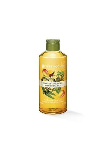 Yves Rocher Energizing Mango Coriander Bath Shower Gel 400ml YV460BE16LLBSG_1