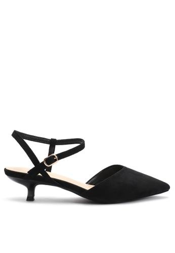 Twenty Eight Shoes 尖頭絨面中踭鞋395-8 6D373SH037C4EDGS_1