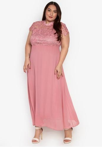 Plus Size Brielle Maxi Dress