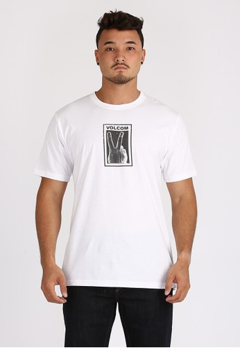 Volcom white MRG PEACE OFF WHT 59E0CAAD2F0194GS_1