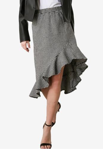 Trendyol multi Flywheel Black Skirt E88C5AA7DDF365GS_1
