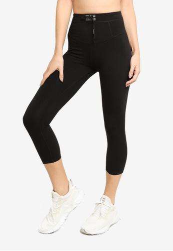 Lorna Jane black Ace Core Stability 7/8 Leggings 2CB84AA9EA2506GS_1
