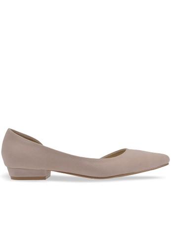 MAYONETTE beige Mayonette Zoel Flats - Cream MA831SH0UQWSID_1
