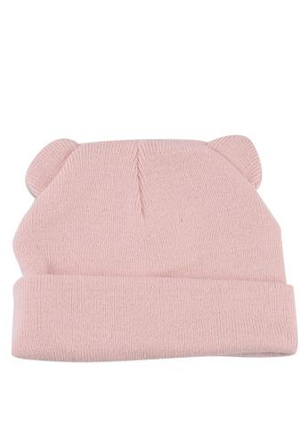 KOTON pink Baby Girl Beanie F91BEKCBE322B1GS_1