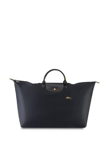 LONGCHAMP grey Le Pliage Club Travel Bag XL (nt) 65B64ACA2EF4E4GS_1