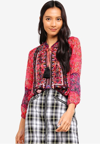 71dab10719 Buy Desigual Romina Blouse Online on ZALORA Singapore