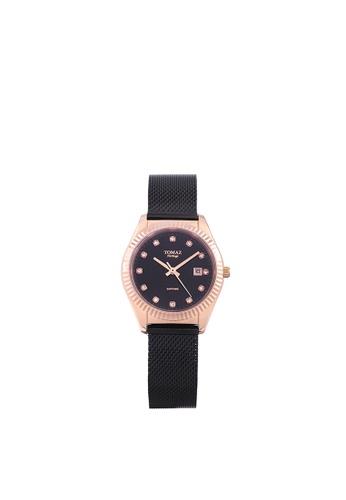 Tomaz Tomaz Ladies's Watch TQ016L (Rose Gold/Black) B1ACAACE7D96AAGS_1