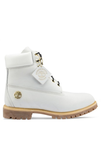 Timberland white Timberland Icon 6-Inch Premium Boots 45E3BSH8BCFE53GS_1