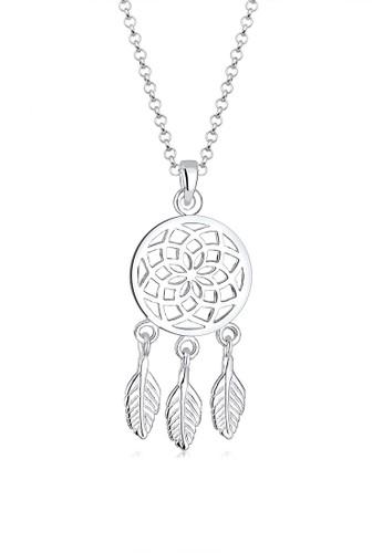 Elli Germany silver Perhiasan Wanita Perak Asli - Silver Kalung Dreamcatcher 4CCDCAC0A7511DGS_1