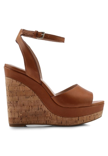 4bec82e2c6e Buy ALDO Adruwien Peep Toe Wedges Online on ZALORA Singapore