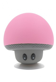 Mushroom Silicone Bluetooth Speaker with Microphone