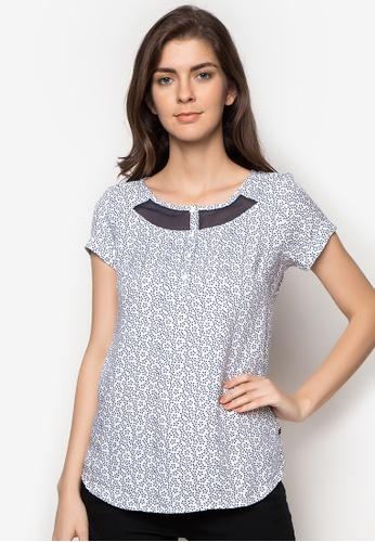 Freego blue Ladies Printed Shirt FR760AA98RYVPH_1