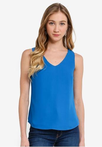 FORCAST blue Alanna Sleeveless Top 00DFBAAE42EC25GS_1