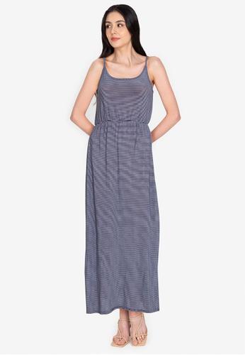 Chictees black Amora Maxi Dress 43616AAE6031F7GS_1