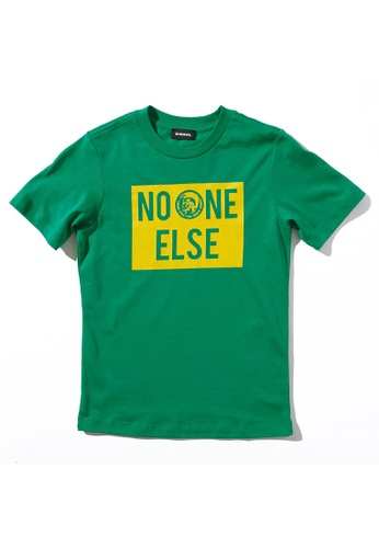 Diesel green Short Sleeve T-shirt 23ED7KA2E265D5GS_1