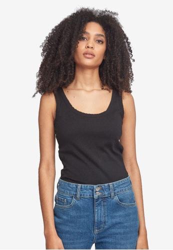 Dorothy Perkins black Trim Vest Top 0251CAA0A6B692GS_1