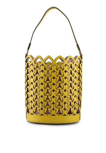 kate spade new york yellow Dorie Medium Bucket Bag (cv) 6F1D1AC70CF626GS_1