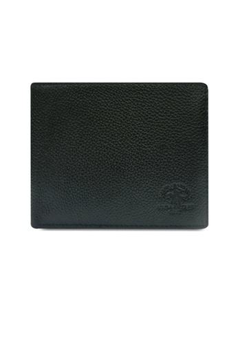 Santa Barbara Polo & Racquet Club black Santa Barbara Leather Classic Bifold Wallet SA678AC0GNOASG_1
