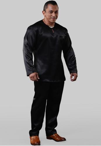 UA BOUTIQUE Baju Melayu Mr. Universe UABMJ01-011 (Black) BDD76AAEEF0C5CGS_1