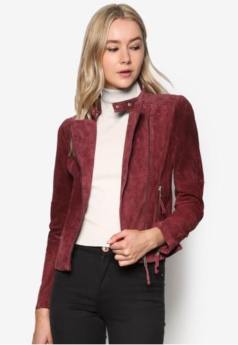 Outdoor 皮製騎士外套、 服飾、 服飾ESPRITOutdoor皮製騎士外套最新折價