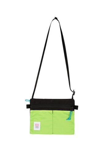 Topo Designs yellow Topo Designs Accessory Shoulder Bag 646BAACFBEB3FFGS_1