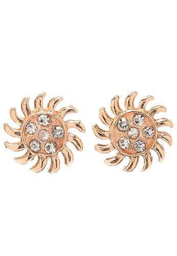 Jewelplace gold Sunny Plated  Earrings JE882AC28VEDPH_1