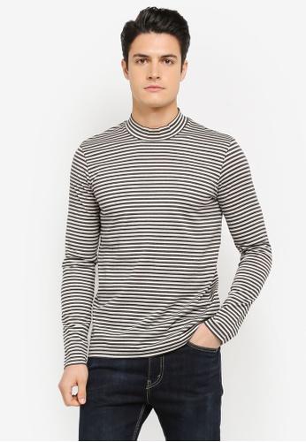 ESPRIT grey Long Sleeve T-Shirt ES374AA0SZU6MY_1