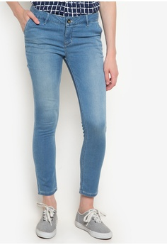 8bced5f920d8 Bobson blue Low Waist Skinny Tapered Denim Pants BO748AA17SDQPH 1