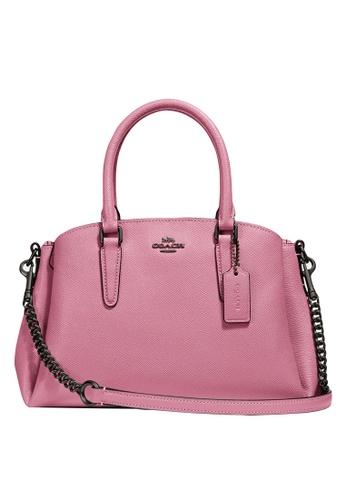 Coach pink Mini Sage Carryall Bag (cv) 8E002AC43BABCBGS_1