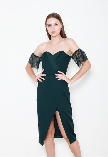 Leline Style green Katelyn Bustier Dress 46A74AA85892A5GS_1