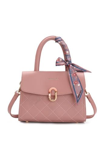 Swiss Polo pink Casual Top Hand Bag EEA9BAC127AF84GS_1