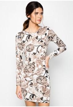 Agatha Longsleeves Mini Dress