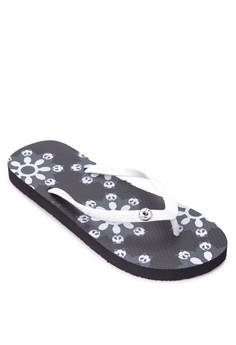 I love Panda Flip Flops