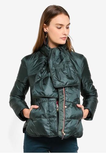 ESPRIT green Short Outdoor Woven Jacket EE1C3AA06522BEGS_1