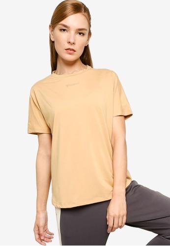 Hummel brown Hummel Reese T-Shirt S/S 47237AA76D7043GS_1