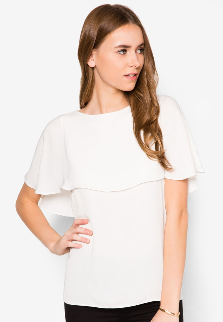 Collection Cape Layer Top