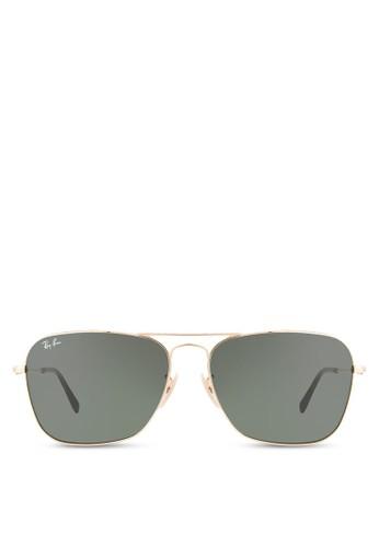 Caravan 方框esprit 旺角太陽眼鏡, 飾品配件, 飾品配件