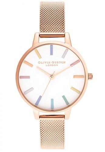Olivia Burton gold Olivia Burton Rainbow ROSE GOLD Women's Watch (OB16RB24) 91F47ACDB49538GS_1