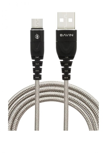 BAVIN black and white USB Data Transfer Cable 1.2 Meters B0B55AC132A261GS_1