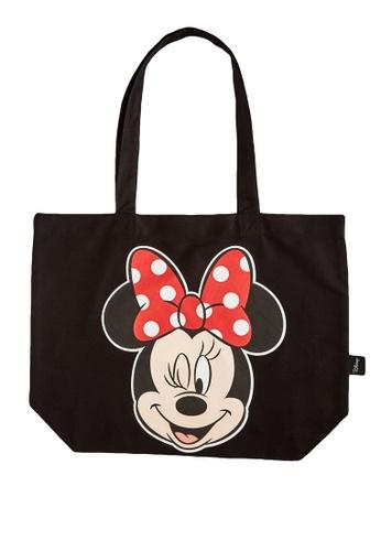 LC Waikiki black Minnie Mouse Shopping Bag 15C21KC7082F20GS_1
