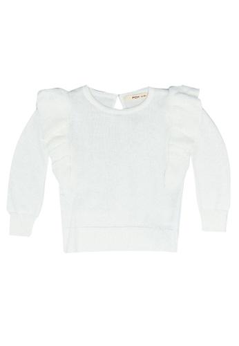 FOX Kids & Baby white Baby Girl Sweater 76578KA32FF9FFGS_1