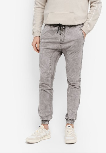 Cotton On grey Drake Cuffed Pants C8A28AA0AE6F74GS_1