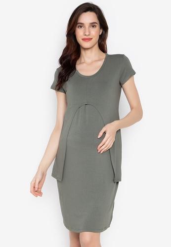 5b159f4c795df Shop BUNTIS Elisa Nursing Maternity Dress Online on ZALORA Philippines
