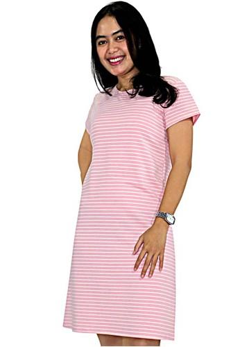 Factor pink FACTOR - AYLA DRESS-PEACH 50CD5AA891FC52GS_1