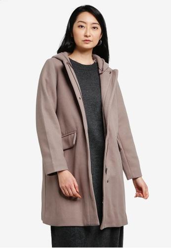 LOWRYS FARM brown Fleece Coat 98EF0AA03B879CGS_1